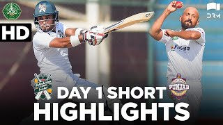 Short Highlights | Balochistan & SP | Day 1 | QA Trophy 2020-21 | PCB | MC2L