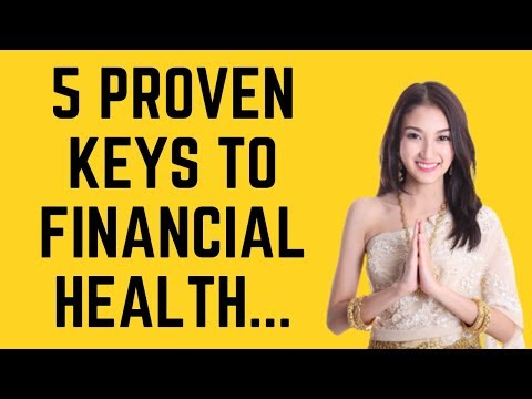 5 Proven Keys to Financial Health for Expats ❤️