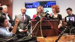 Allred'a evil daughter tries to make Griffin's idiocy about Trump