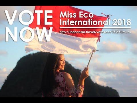 Ayo Vote Miss Eco International 2018