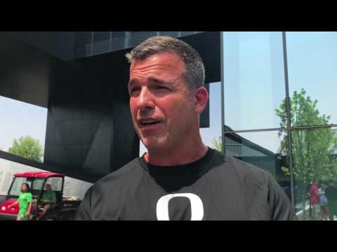 Mario Cristobal explains why defensive lineman Jordon Scott is a