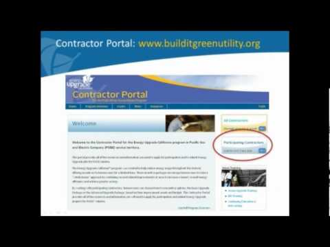 Special Webinar for EUC Contractors in Joint PG&E/SMUD Service Territory