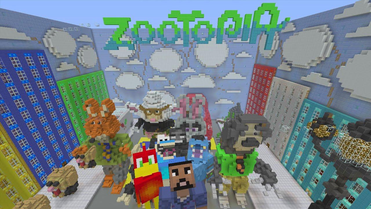 minecraft zootopia map