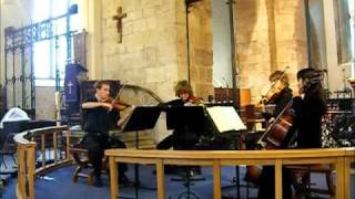 Holst - Prelude to the Brook Green Suite (The Octavia String Quartet)