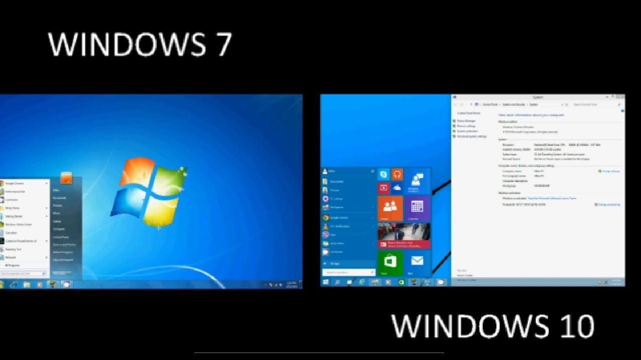 Windows 10 vs Windows 7 Guerra de dioses S.O ven y Comenta