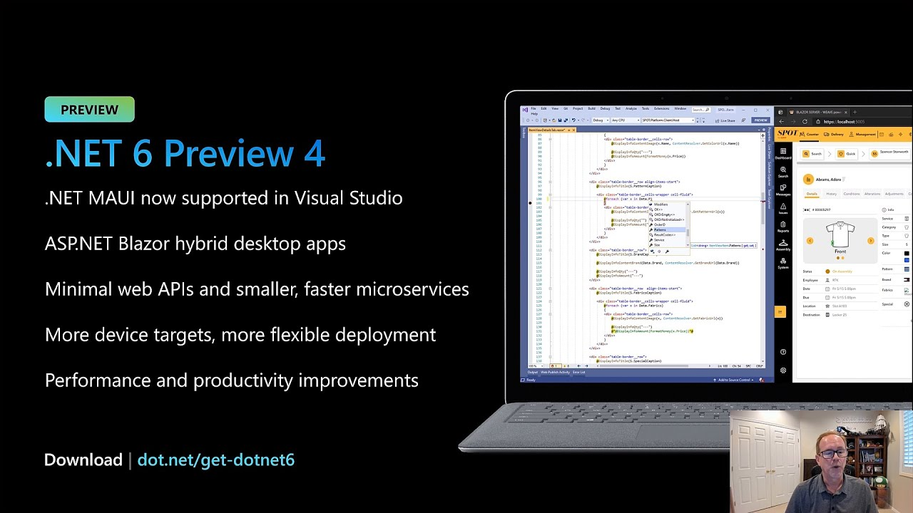 .NET 20 deep dive; what's new and what's coming   OD20