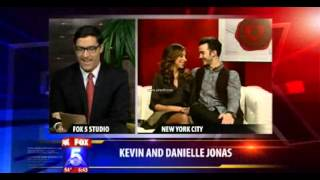 Kevin and Danielle Jonas Interview with FOX5 San Diego