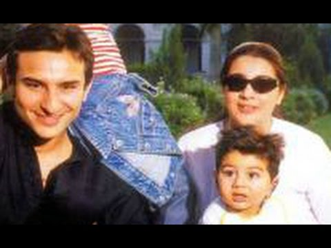 Saif ali khan with wife Amrita singh and family   Back in ...