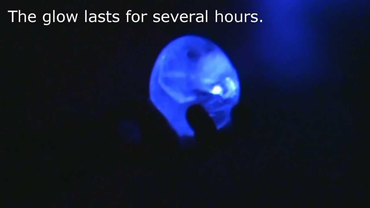 glowing ice bulb youtube