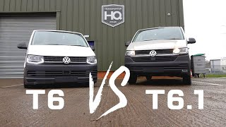 VW T6 vs T6.1 - The Differences | Transporter HQ