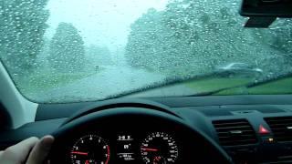 2010 Volkswagen Jetta vs Crazy Wild Storm!