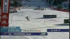 Highlights from Anja Pärson's career