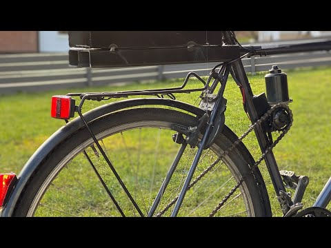 #diyelectricbike #diyideas                            How to Make E-BIKE at Home/ Amazing Idea