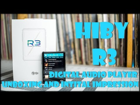 Hiby R3 High Res Digital Audio Player Unboxing and First Impression