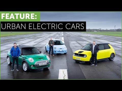 City Electric Cars. Mini Electric, Honda e, Fiat 500 E. More urban than Tesla