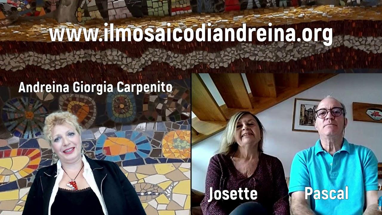 Storie del mosaico: intervista con Josette e Pascal Patat