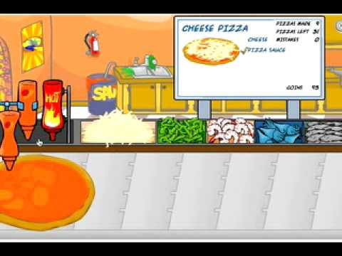 Club Penguin Pizza Tron 3000 Perfect Game