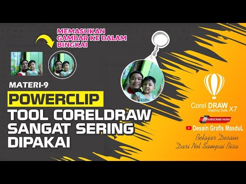 Powerclip Shortcut In Coreldraw
