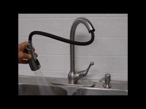 Kohler Barossa Touchless kitchen faucet - YouTube