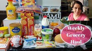 Weekly Grocery Haul   Family of 4   Naush Vlogs in Urdu Hindi