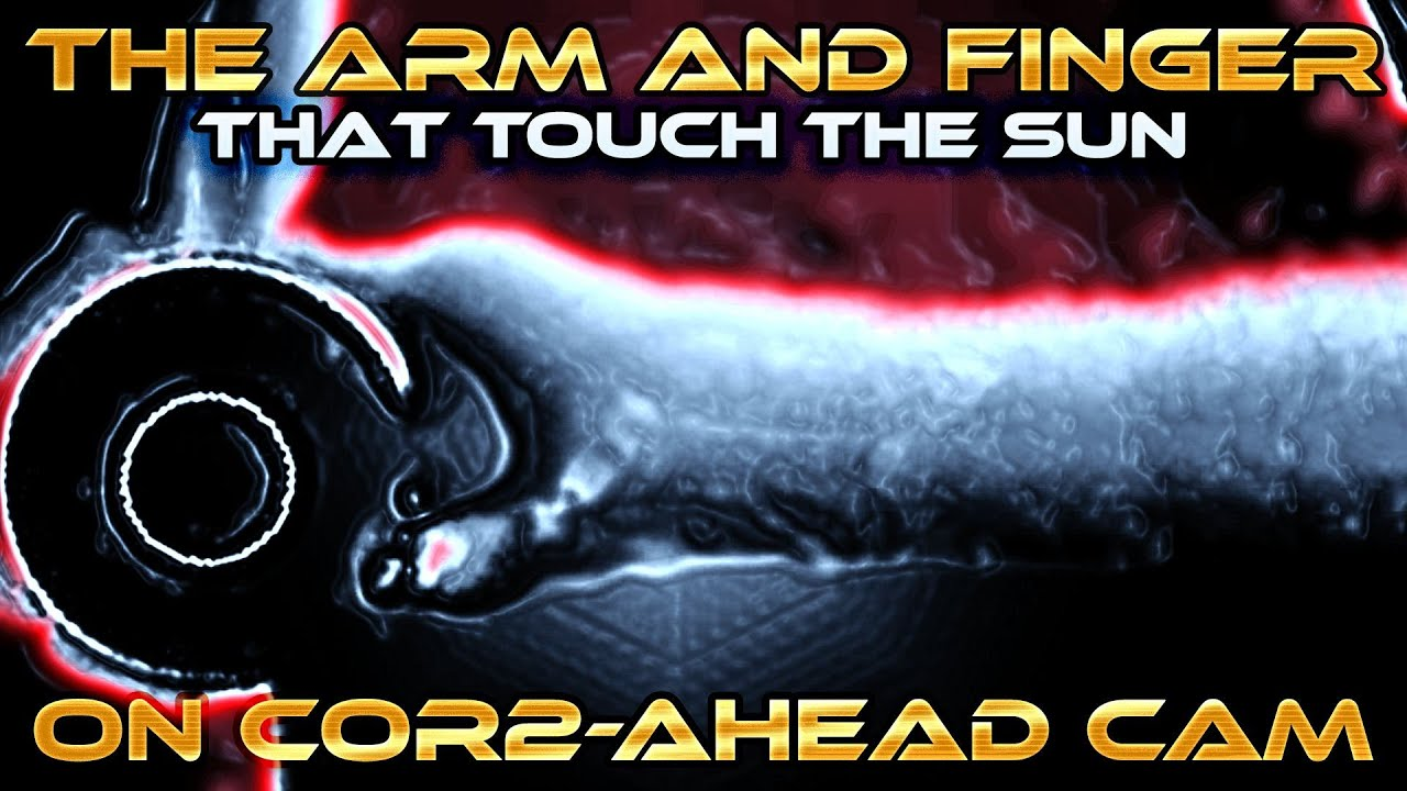 The Arm and Finger that Touch the Sun ... on NASA Stereo COR2-AHEAD April 5 2016