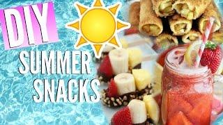 Diy Easy, Cheap, Summer Snack Ideas | Courtney Lundquist