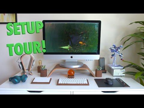 NEW Office & Desk Setup Tour 2016!