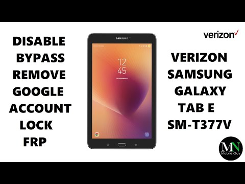 How to remove google account from samsung galaxy tablet