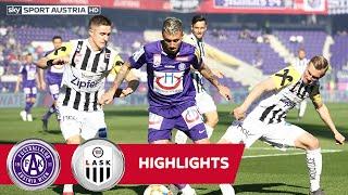 tipico Bundesliga, 26. Runde: FK Austria Wien - LASK 2:2