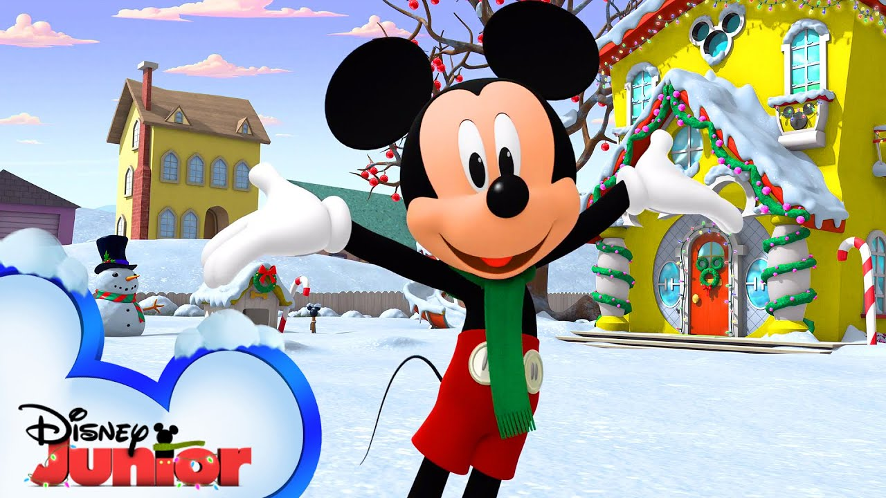 Mickey's Holiday Party ❄️| Music Video | Disney Junior