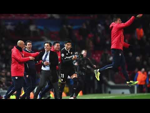 Manchester-Sevilla: Las Narraciones de la Victoria Histórica del Sevilla en Old Trafford