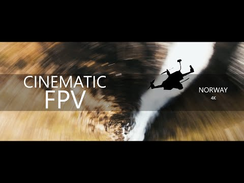Фото Cinematic FPV in Norway 4k | Diving mountains, waterfalls and clouds