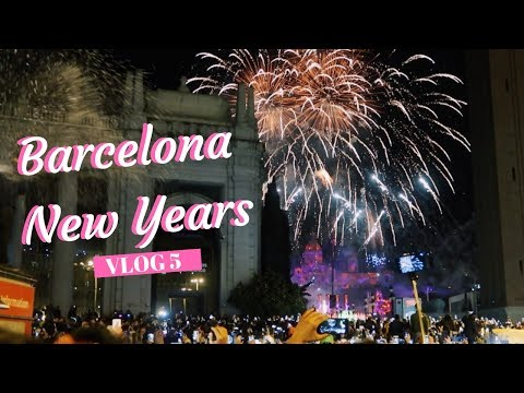 BARCELONA VLOG I NEW YEARS EVE I THINGS TO DO