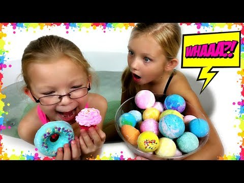 BATH BOMB Challenge - Magic Box Toys Collector