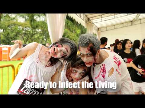 Human to Zombie Transformation - Run For Your Lives