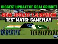 Real Cricket 18 1.9 test match update review | Rc18 test match gameplay
