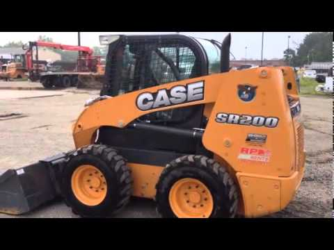 2013 CASE SR200 For Sale
