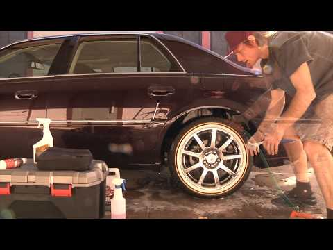car detailing how to wheels and tyres
