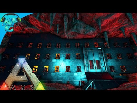 The Unraidable Underwater Cave Base Build Raid! ARK Survival Evolved - PvP Season 2 E13