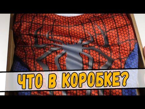 """Коробка """"Человек-Паук"""" от Fancase - МАСКА ЧЕЛОВЕКА-ПАУКА!"""