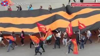 Праздничный марш в Кишиневе