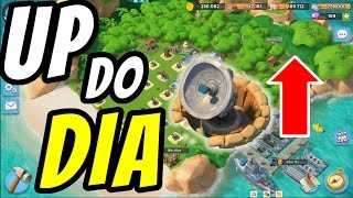 UP DO DIA RADAR NIVEL 5 | Boom Beach | HABILIDADE FORÇA DE FERRO