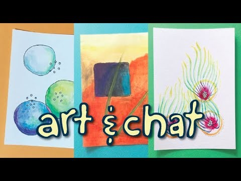 Painting Morning Pages – Daily Sketches – Getting Back Into The Painting Habit – Art And Chat