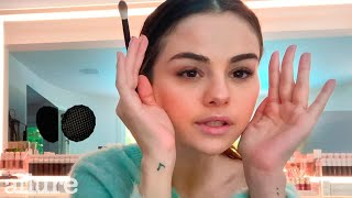 Selena Gomez's Glowing Makeup Routine in 10 Minutes | Allure