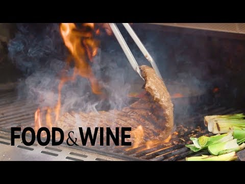Flank Steak Marinated With Balsamic Vinaigrette | Recipe | Food & Wine