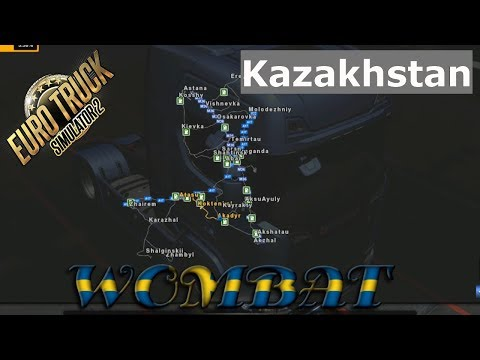 ETS2 1.32 - Map of the Republic of Kazakhstan v0.8