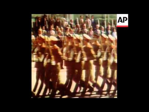 SYND 27/06/74 US PRESIDENT NIXON ARRIVES TO MOSCOW
