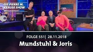 Pierre M. Krause Show vom 27.11.2018 mit Mundstuhl & Joris