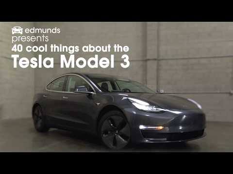 40 Cool Things About The Tesla Model 3 | Edmunds