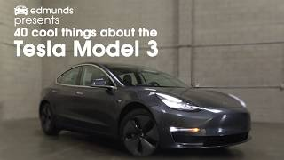 40 Cool Things About The Tesla Model 3